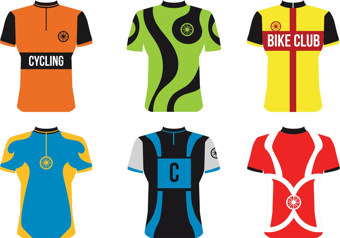 Bike Sport Jersey Vectors Download Free Vectors Clipart