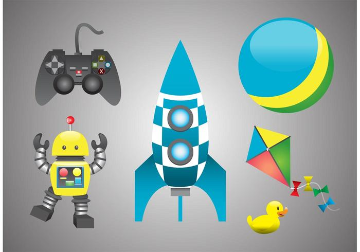 Toys for Kids Vectors