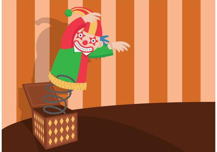 Jack in The Box Illustration