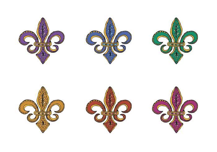 Free Fleur de Lis Vector Series