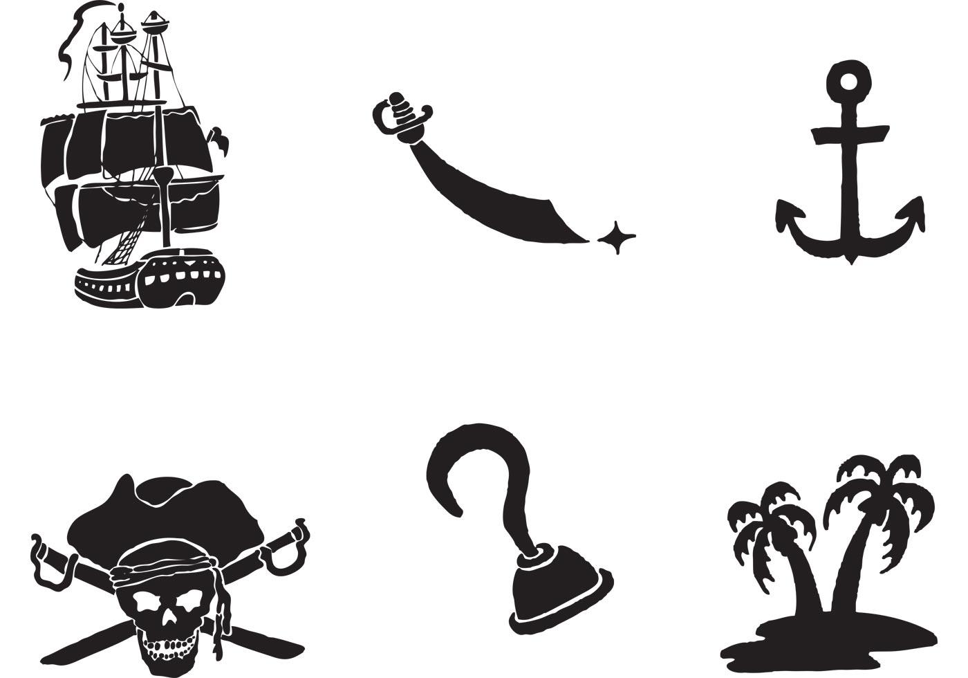 free pirate vector clip art - photo #2