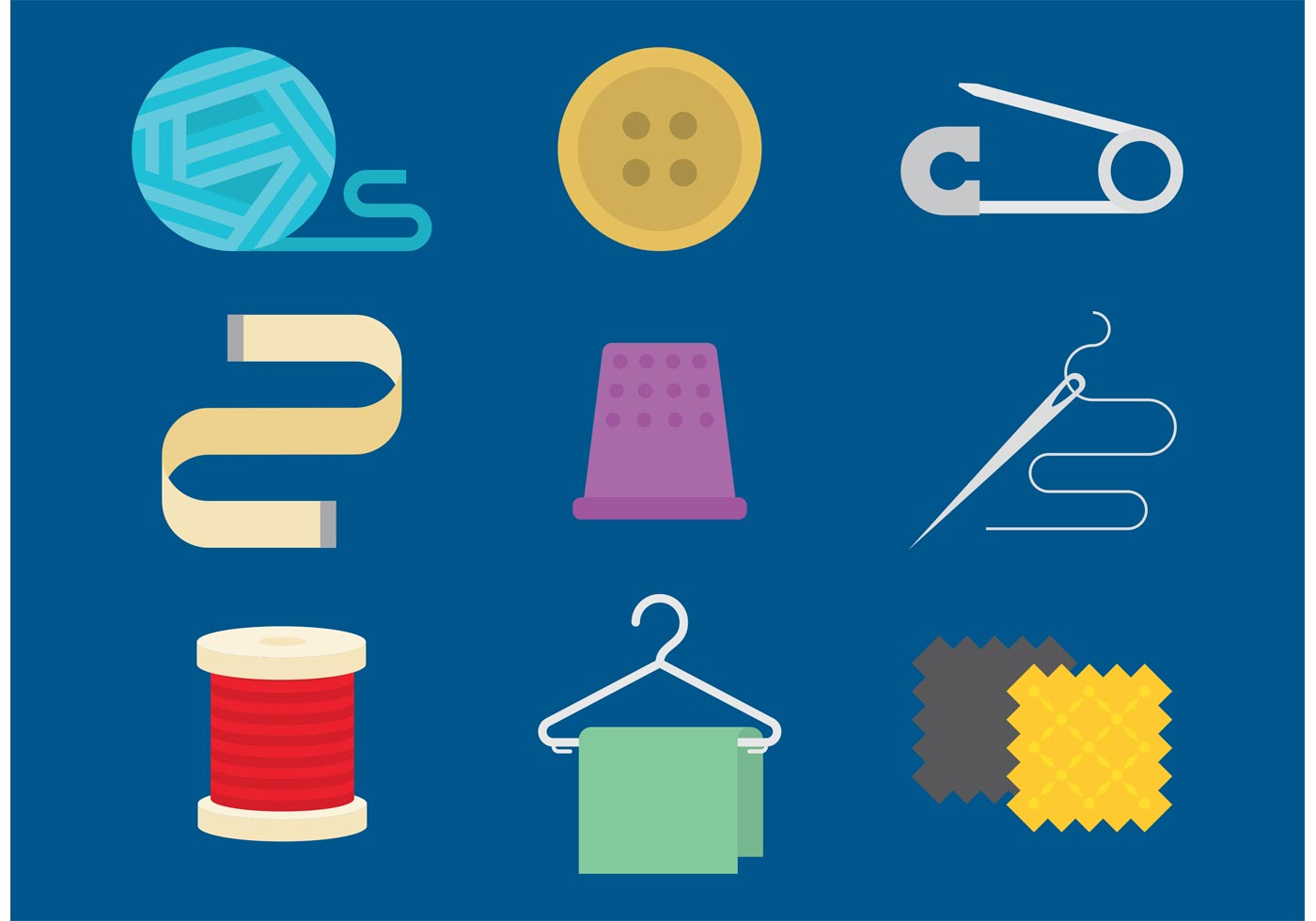 Sewing Vector Icons