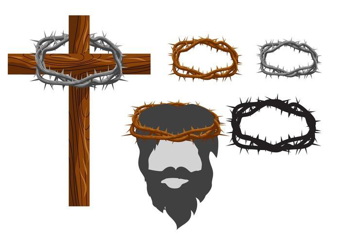 Crown Of Thorn Vectors Download Free Vector Art Stock Graphics