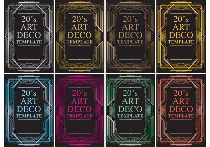Roaring 20s vector templates download free vector art stock roaring 20s vector templates toneelgroepblik Choice Image
