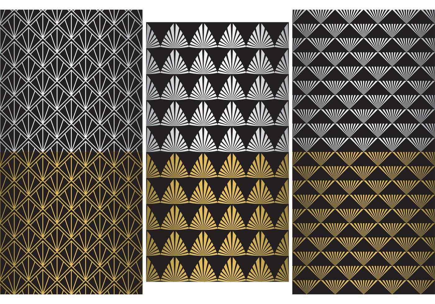roaring 20s pattern vectors download free vector art