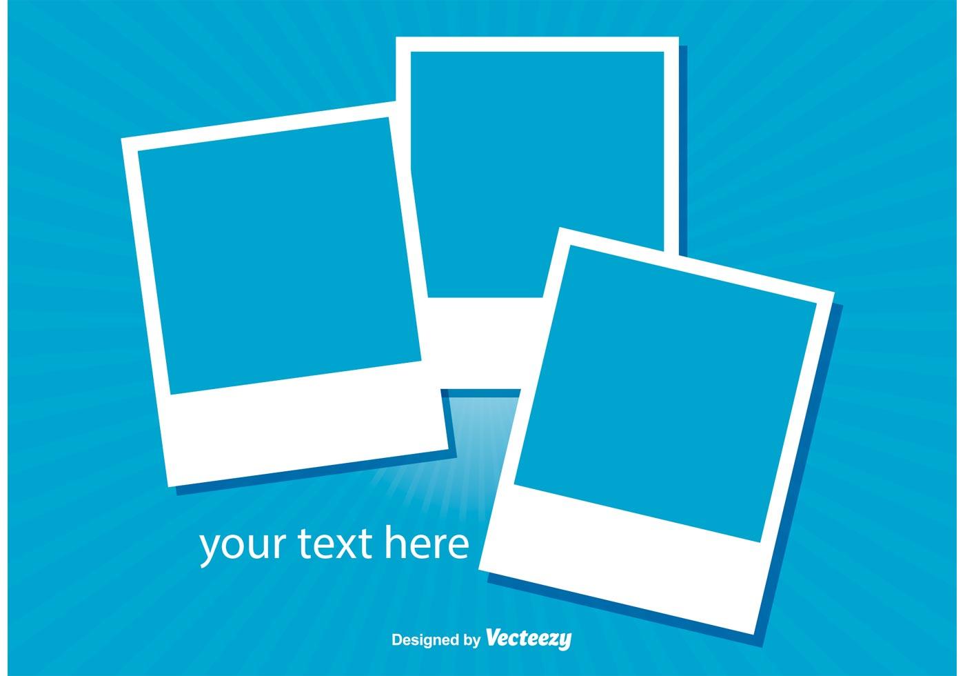 polaroid frames illustration