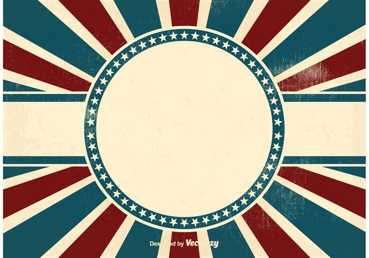 vintage patriotic background download free vector art stock