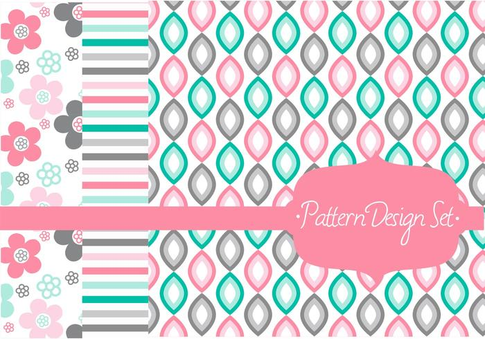 Stylish Pattern Vector Set