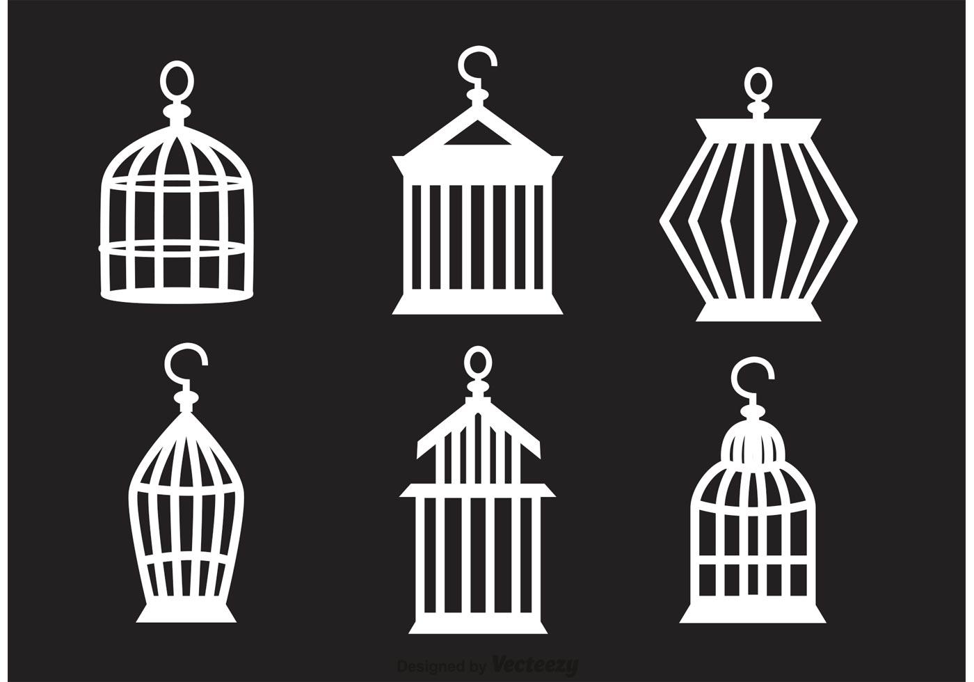 Free Vintage Bird Cage Vector - vecteezy.com