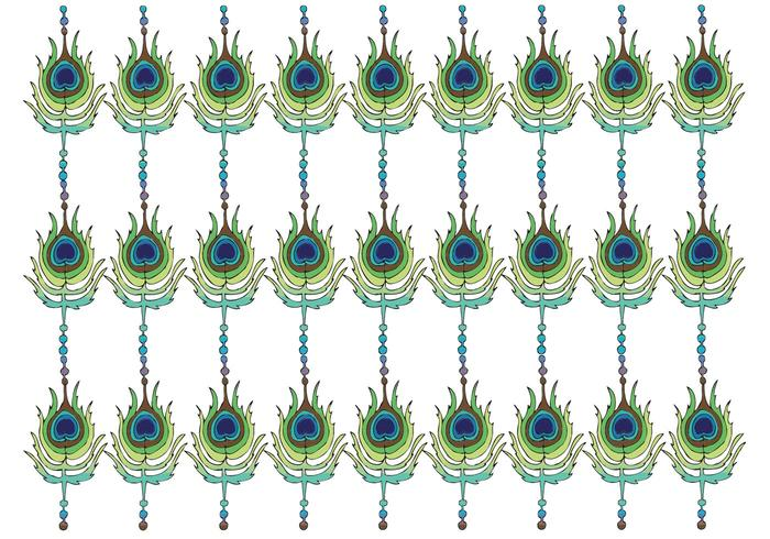 Free Peacock Pattern Vector