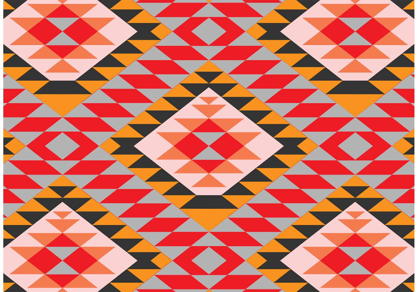 Native Pattern Free Vector Download Free Vector Art