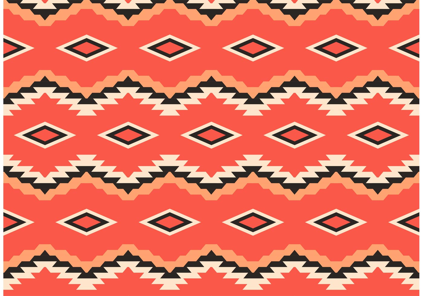 Native American Pattern Free Vector Download