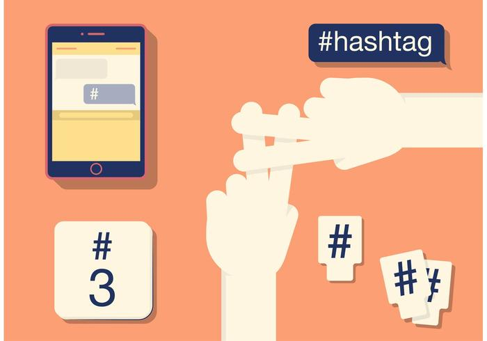 Various Forms of a Hashtag