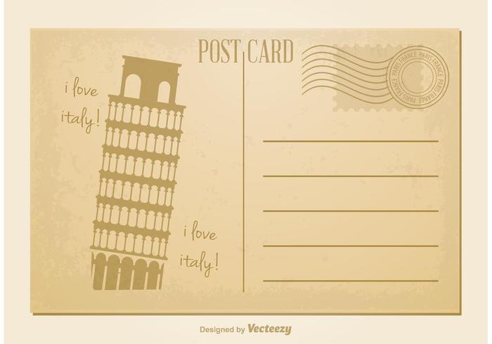 Vintage Style Postcard