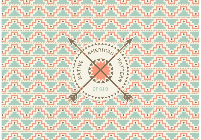 Free Native American Seamless Pattern Vector