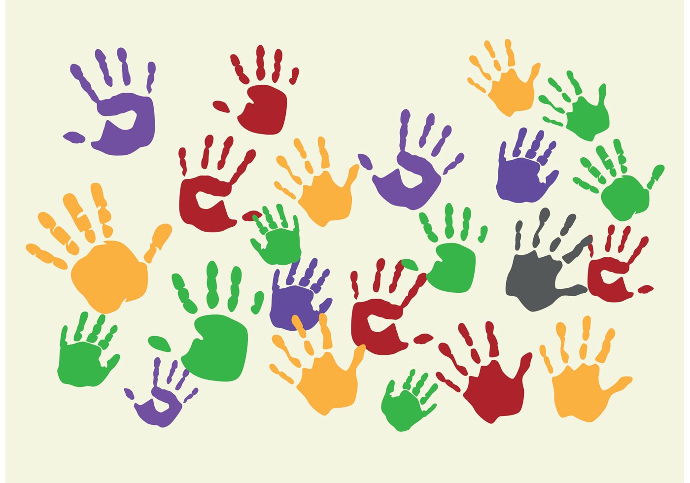 ругают разноцветные ладошки картинки матовое покрытие, которое
