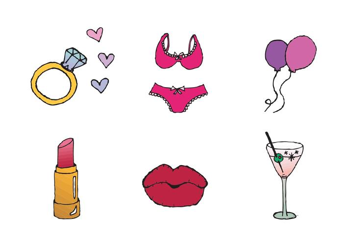 Free Bacheloretty Party Vector Series