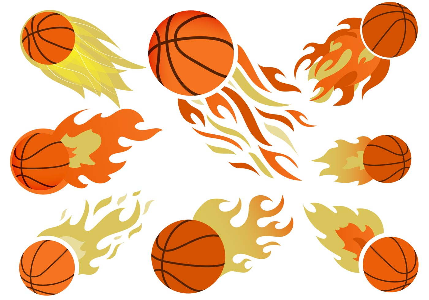 basketball on fire free vector download free vector art baseball jersey clip art basketball jersey clipart