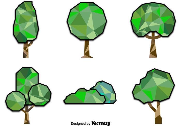 Árboles poligonales