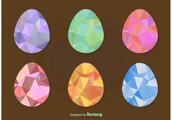 Geometric Easter Eggs