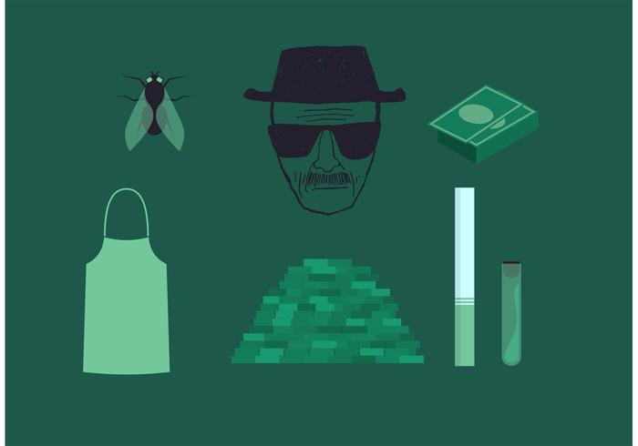 Breaking Bad Heisenberg Vector Set