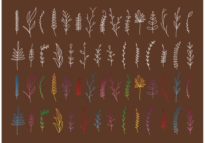 Boho Plant Vectors