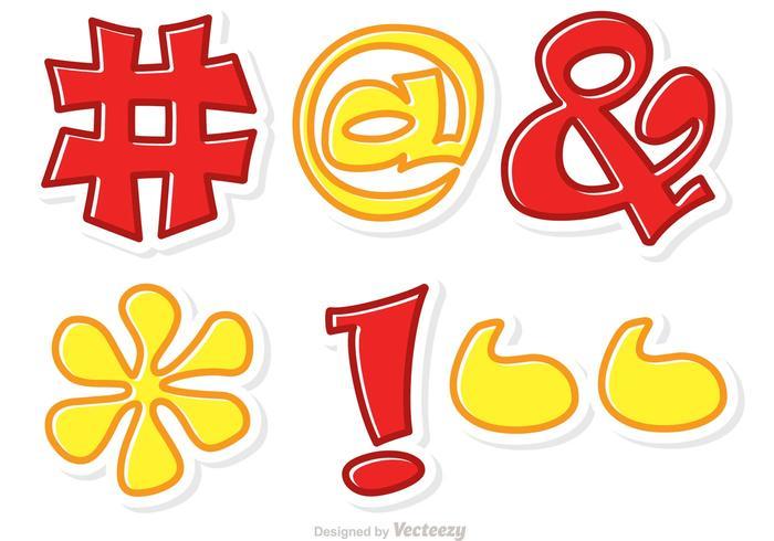 Hashtag Sosial Media Symbol Vector