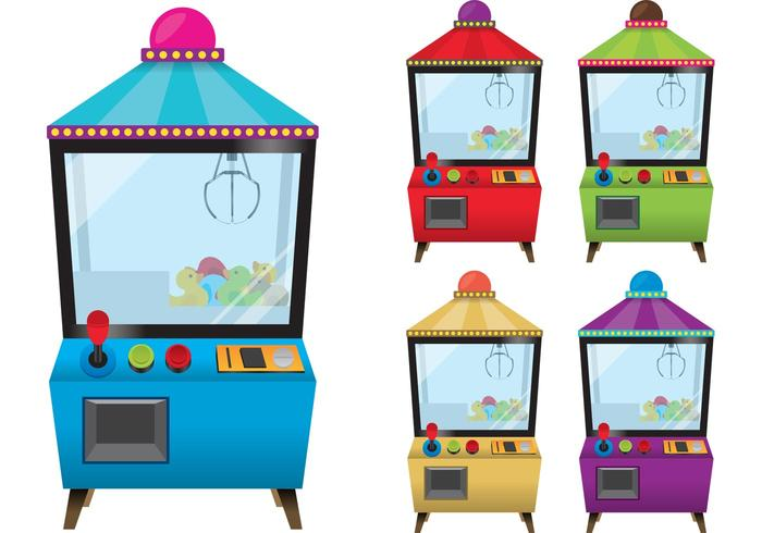 Claw Machine Vectors