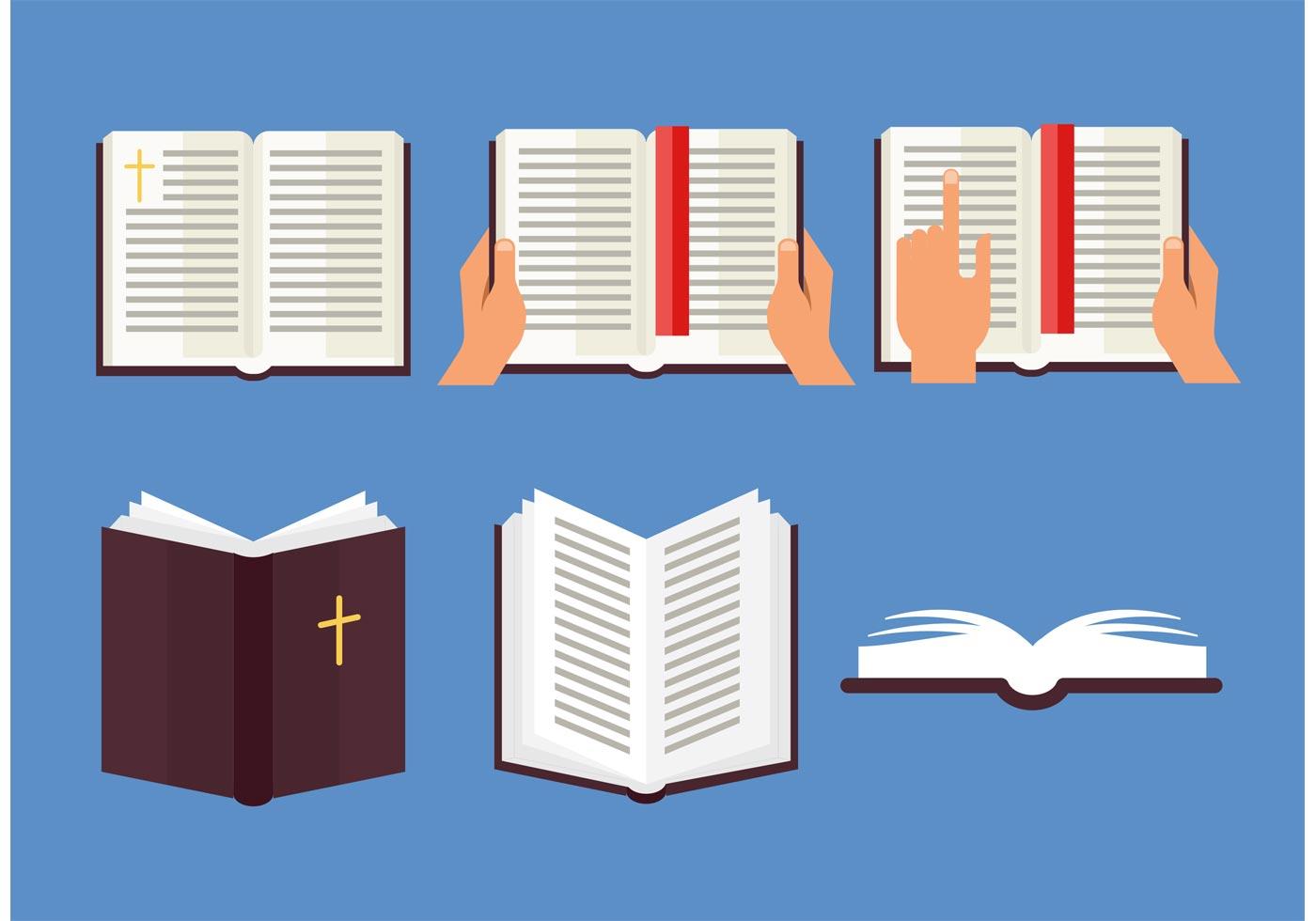 Open Bible Vector Set - Download Free Vector Art, Stock ...