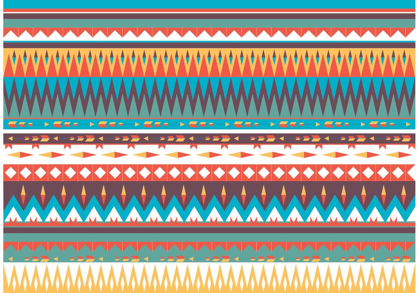 Native American Pattern Vector - 242.5KB