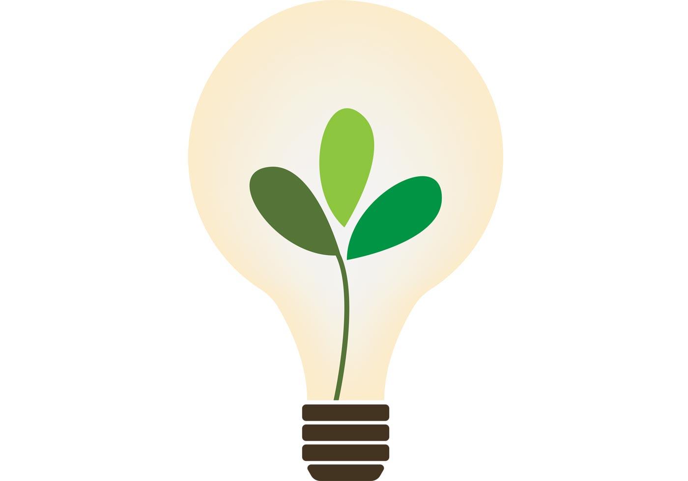 Organic Lightbulb Vector Download Free Vector Art Stock