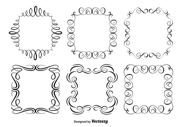 Decorative Ornament Frame Set