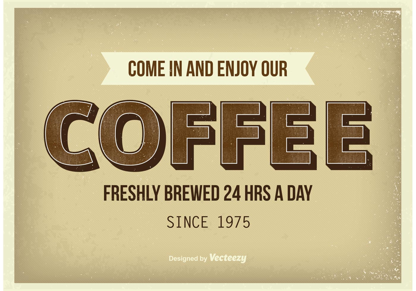 vintage coffee poster download free vector art stock graphics