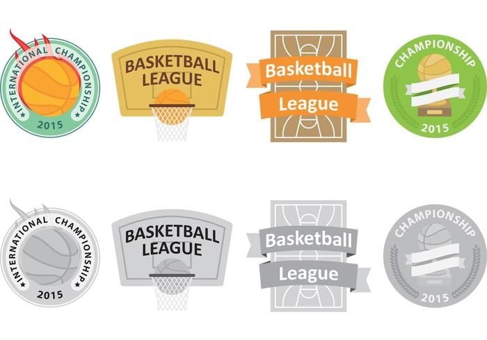 Basketball Vector Logos