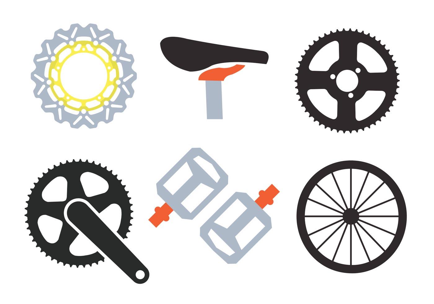 Bike Sprockets Vectors...