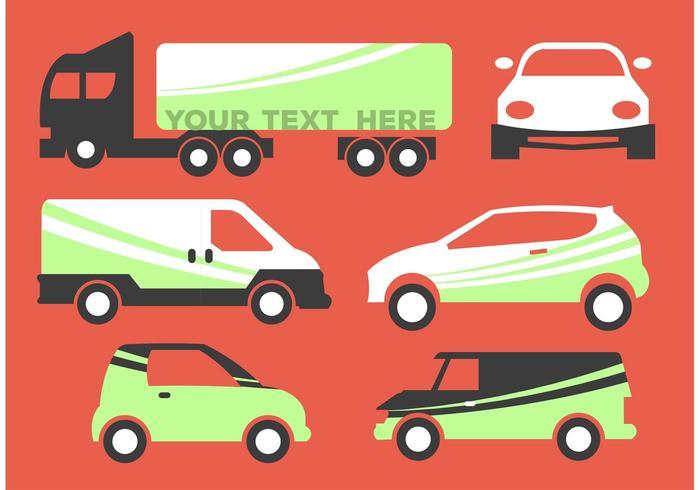 Vehicle Branding Vectors