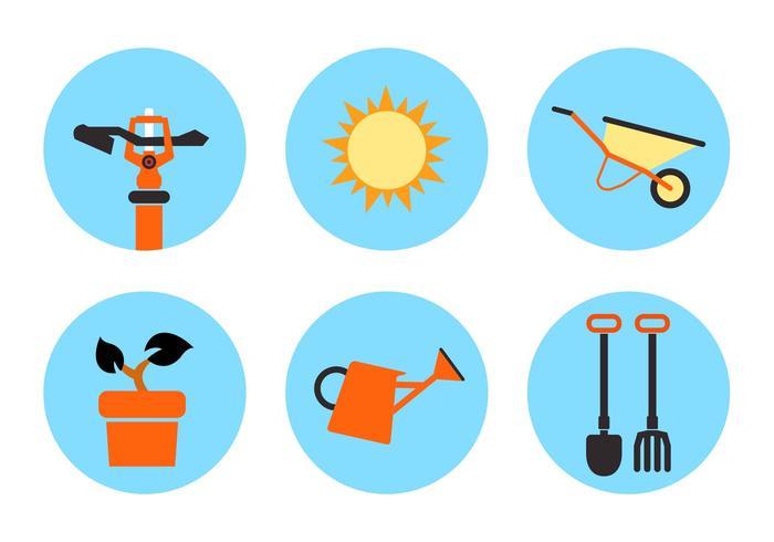 Garden Vector Icons