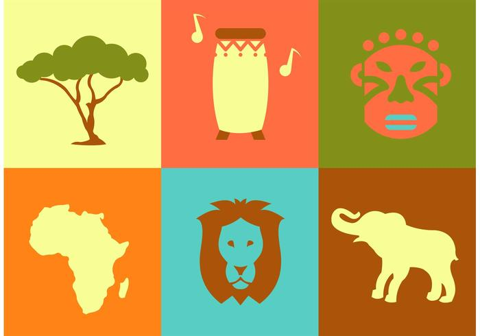 Africa Vector Icons