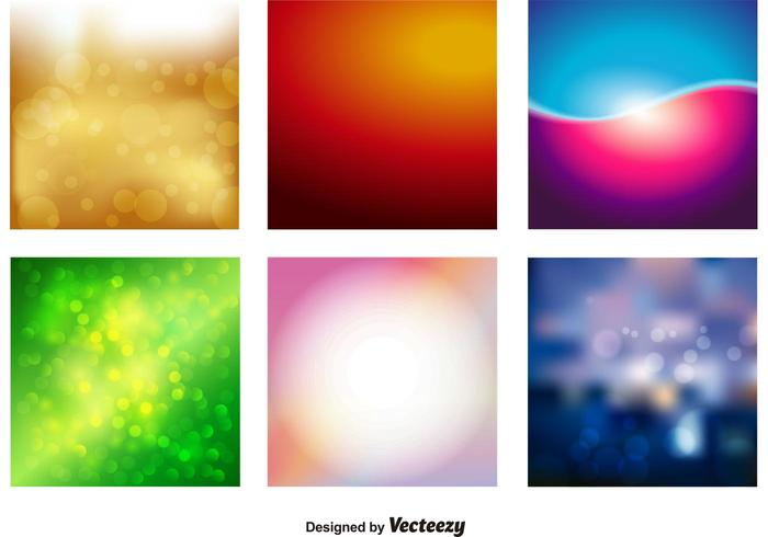 Blur Vector Backgrounds