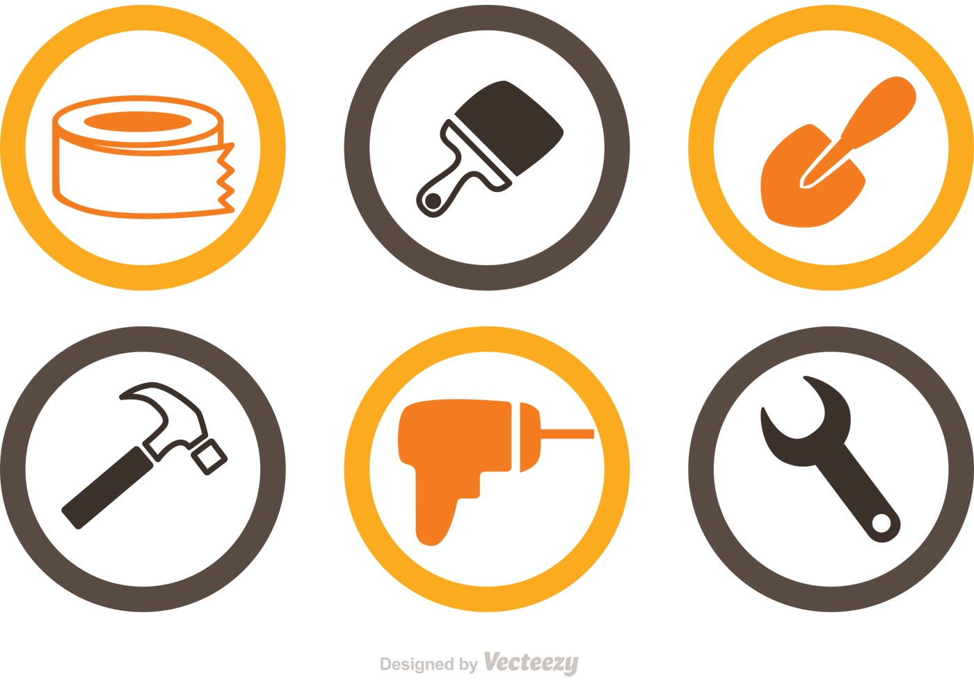 Home Renovation Icons Vector - Download Free Vector Art ...
