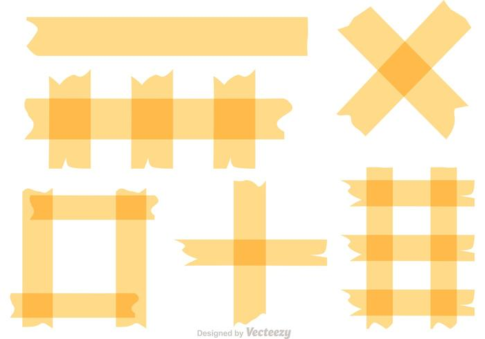 Sticky Tape Vectors