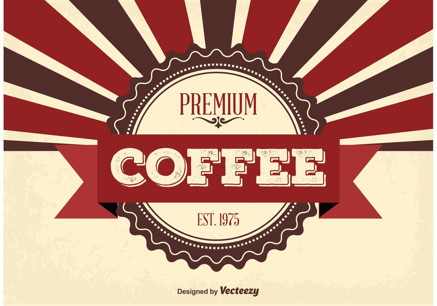 premium coffee background download free vector art