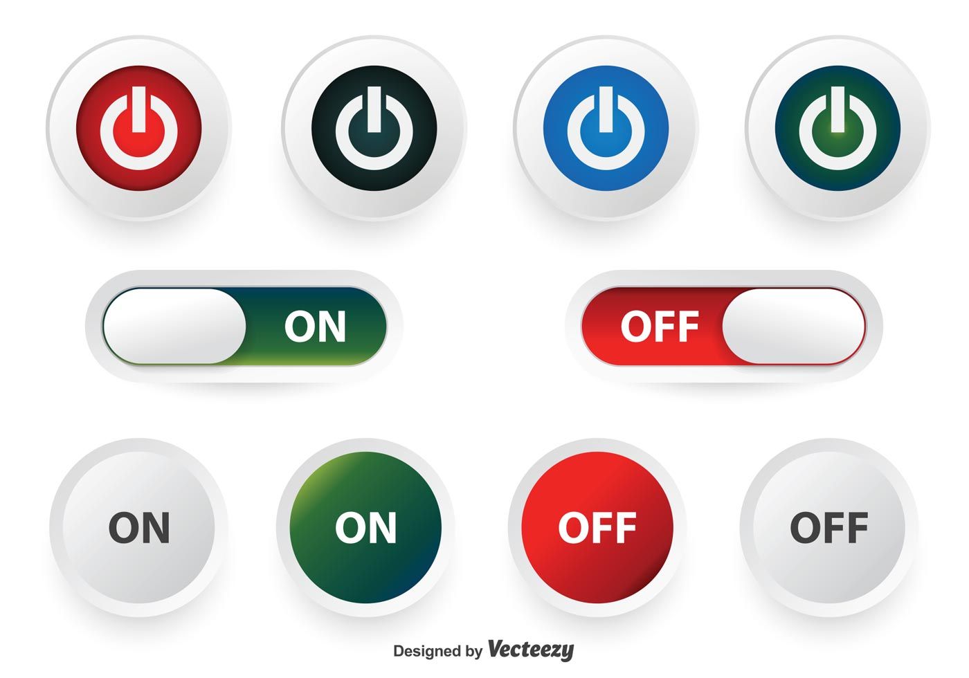 Graphic Design Buttons