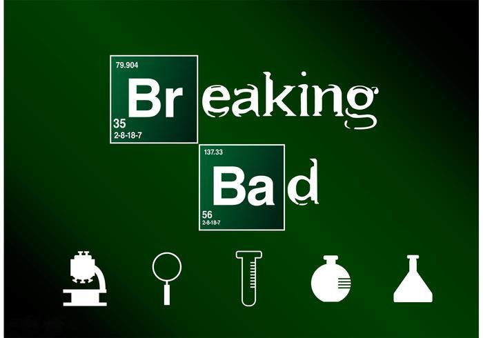 Breaking Bad Logo Breaking bad vector fr...