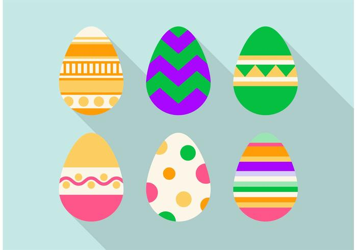 Easter Egg Vector Design Set