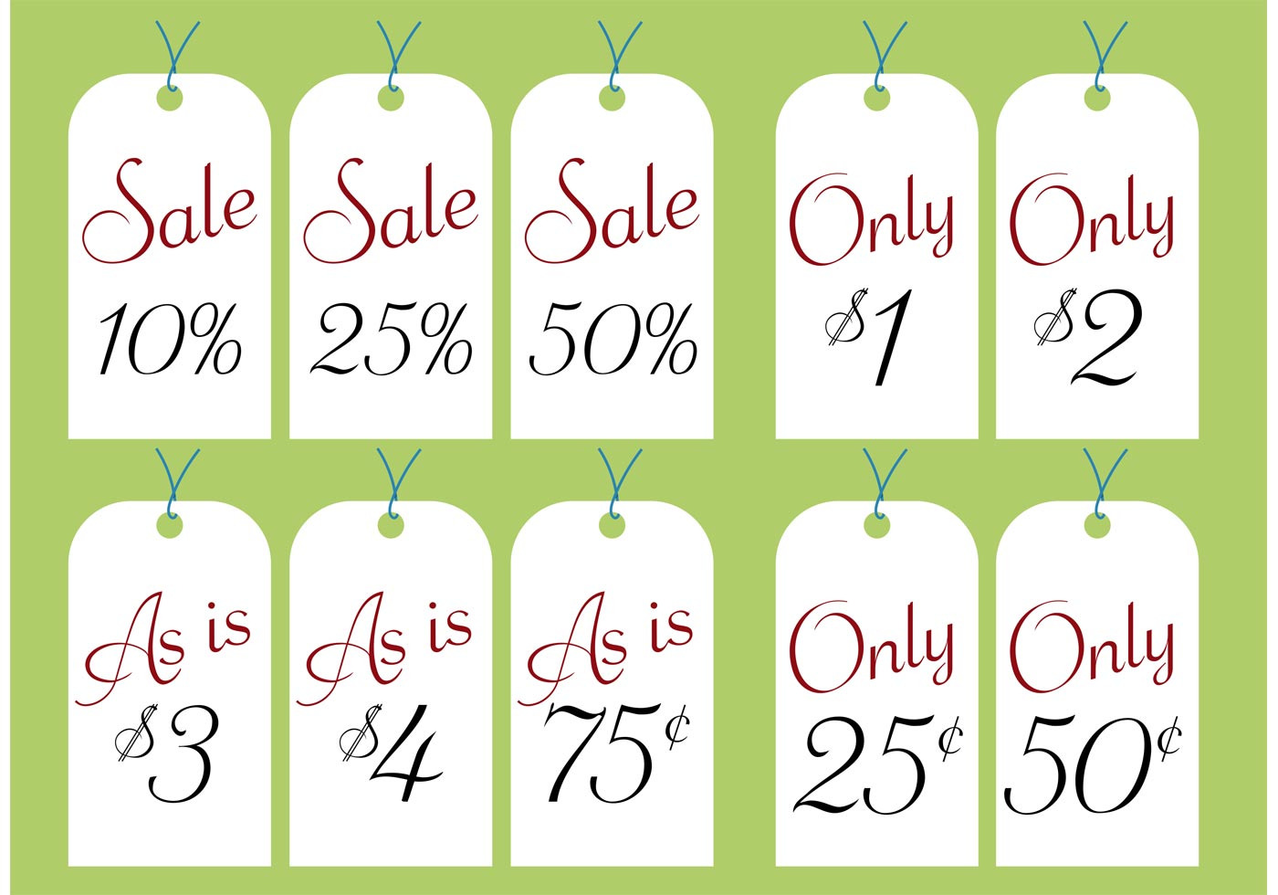 It's just a picture of Transformative Garage Sale Price Tags Free Printable