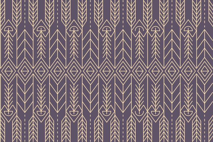Native Abstract Pattern Background Vector