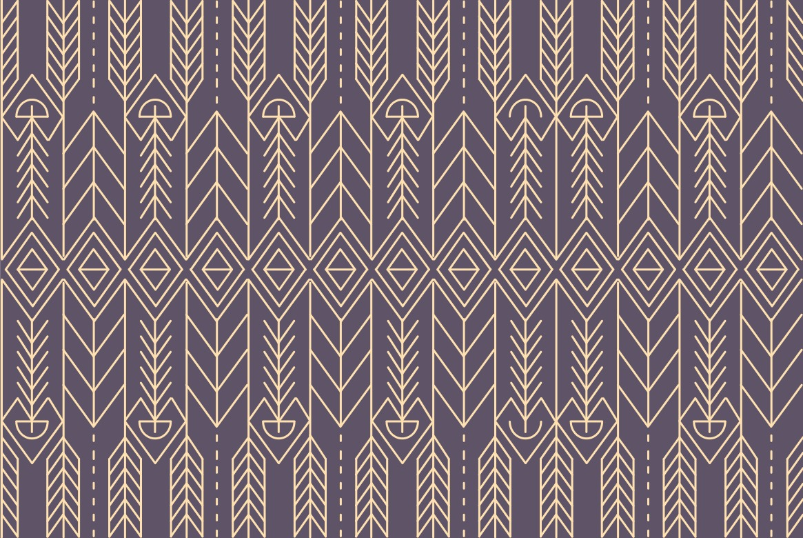 Native Abstract Pattern Background Vector Download Free