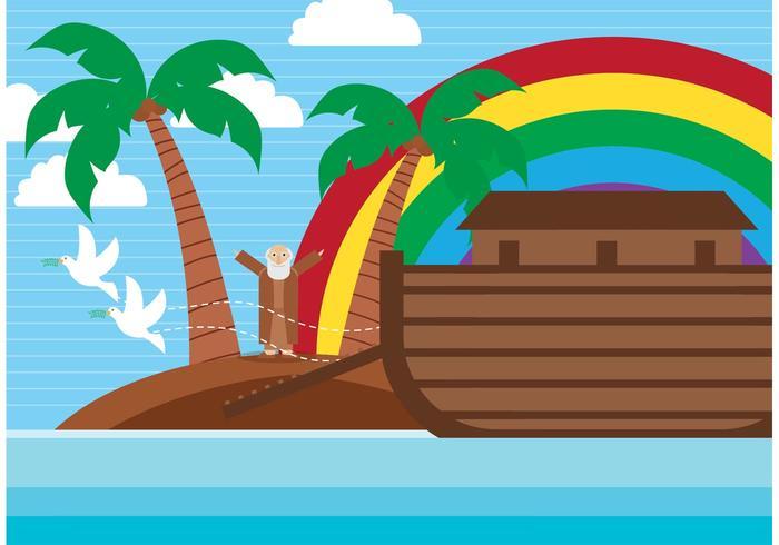 Ilustração da arca do vetor
