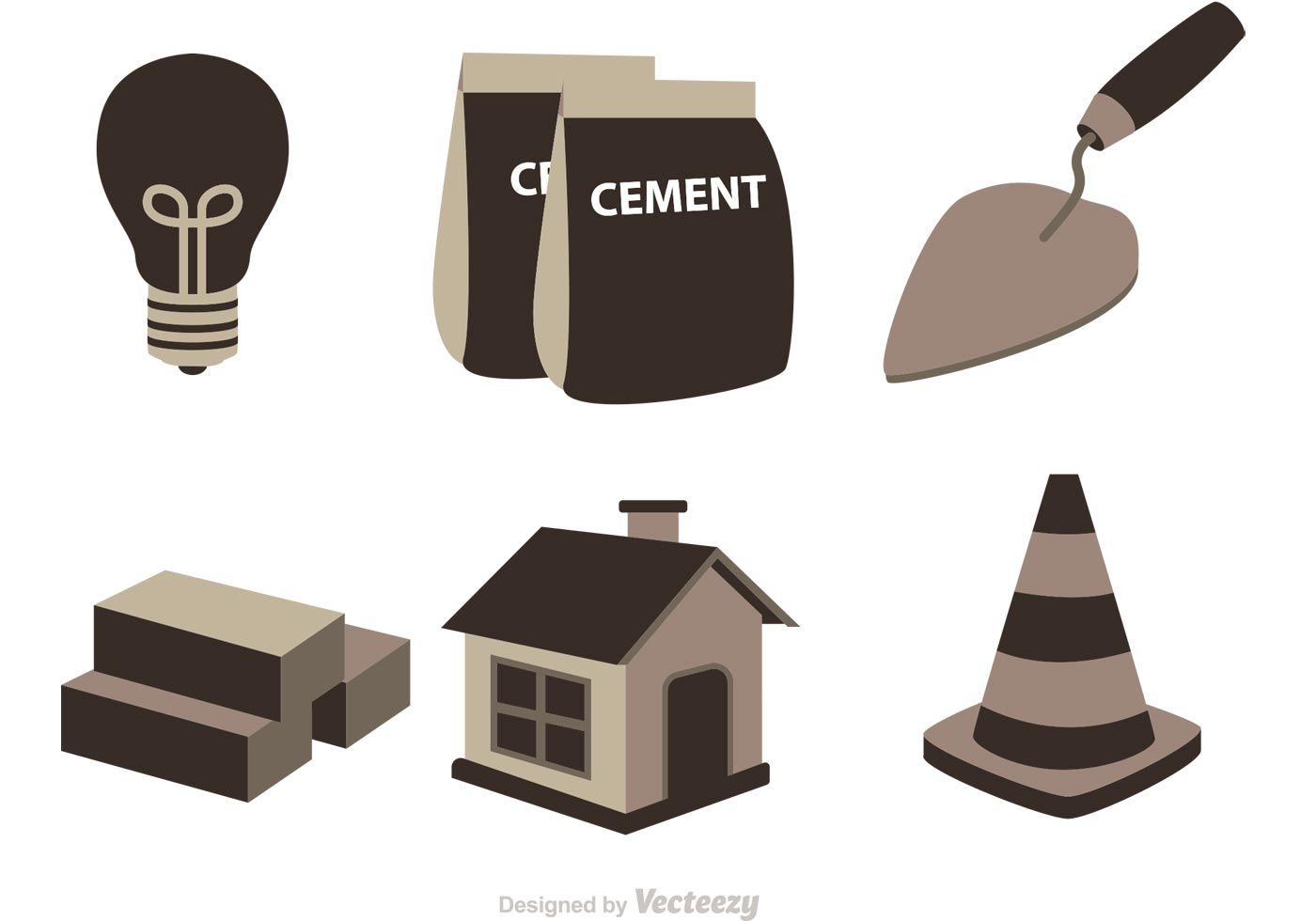 Construction Icons Vector Download Free Vector Art